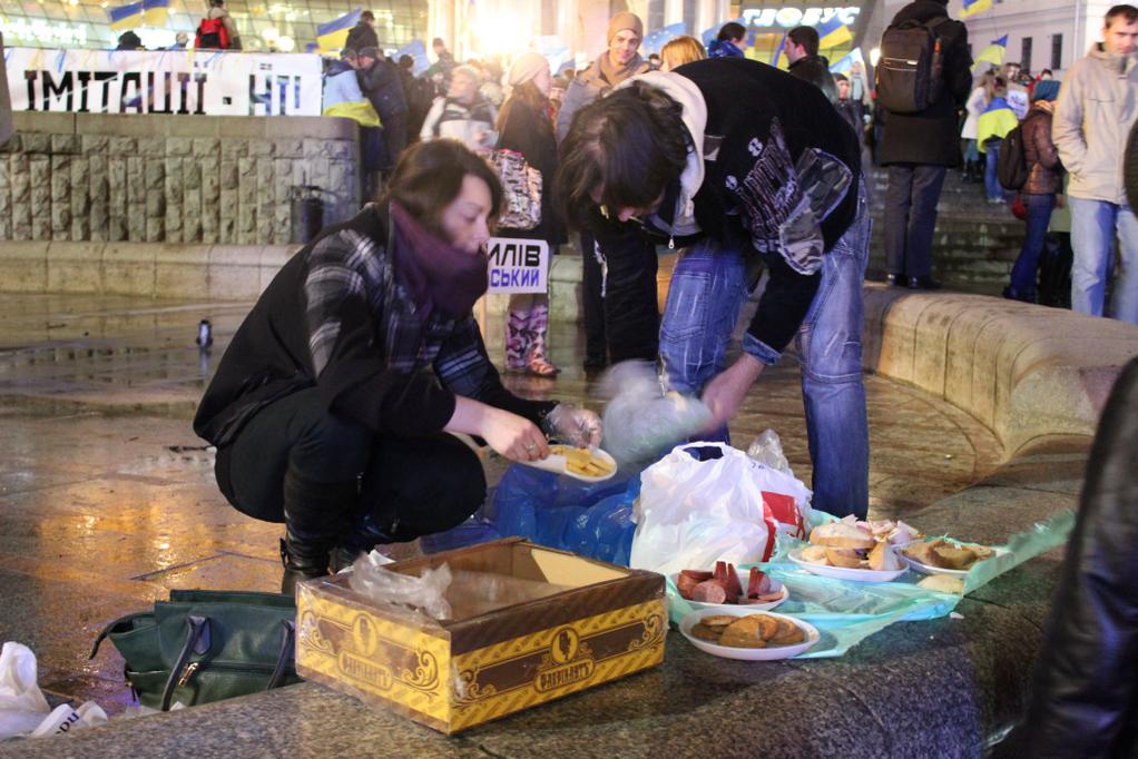 Евромайдан в Киеве, день пятый: хроника