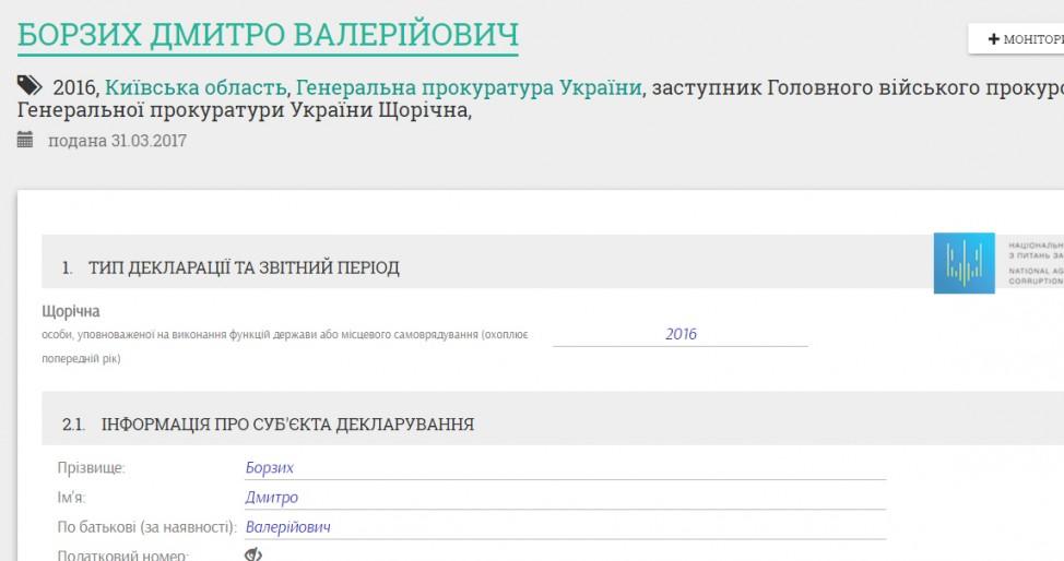 УНАПК пояснили  засекречивание деклараций подчиненных Луценко иМатиоса