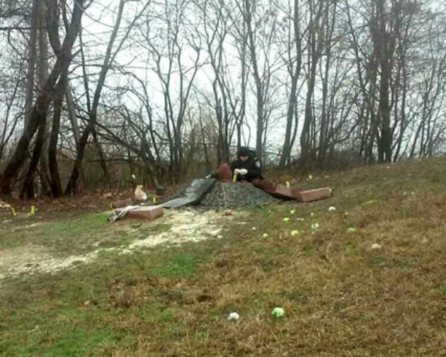 В Ровенской области разбили памятник Сашку Билому: фото