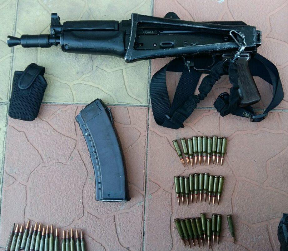 ВКиеве милиция изъяла арсенал стрелкового оружия
