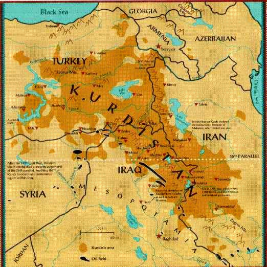 Борьба курдов. Как выглядит большая политика на Ближнем Востоке