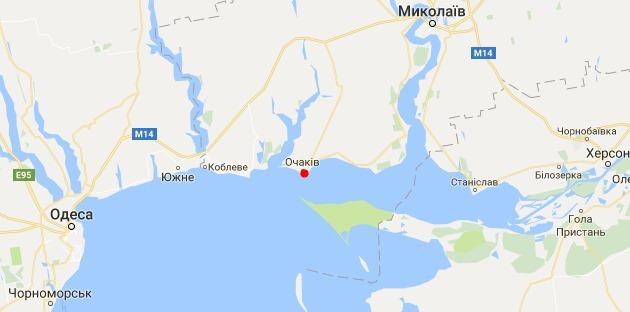 Морпехи США строят в Очакове командный центр для ВМС Украины