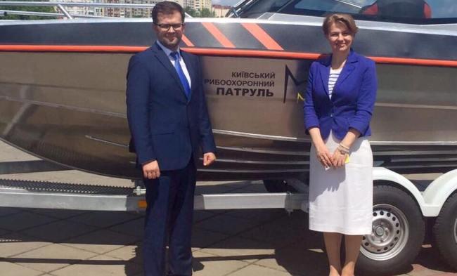1-ый вУкраинском государстве рыбпатруль приступил кборьбе сбраконьерами наКиевщине