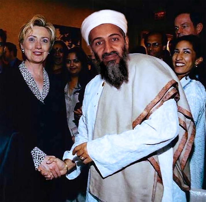 В МИД РФ выдали за правду фейк о приеме бен Ладена в Белом доме