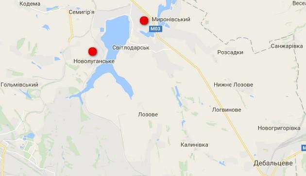 Карта АТО: пятеро ранены, оккупанты оборудуют новые позиции
