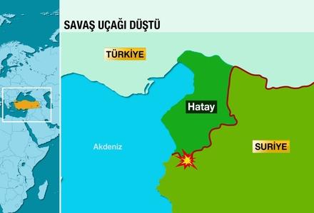 Генштаб Турции: Российский самолет предупреждали 10 раз
