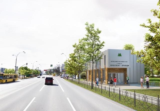 Строительство метро на Виноградарь: как будут выглядеть станции