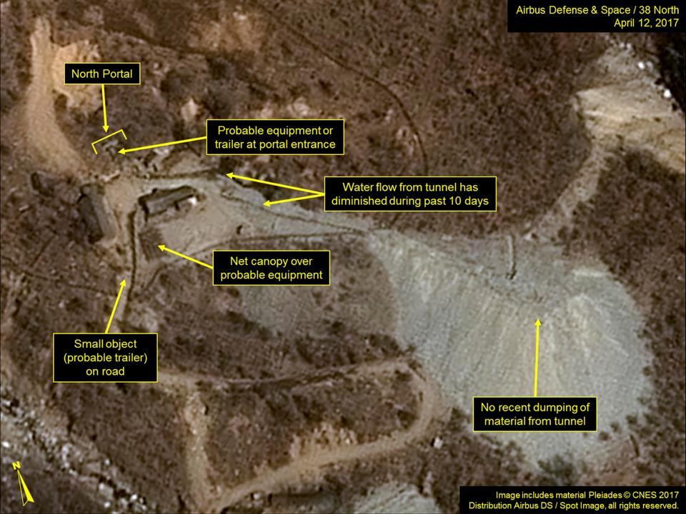 Срочно! материк под угрозой: произошел обвал наядерном полигоне вКНДР
