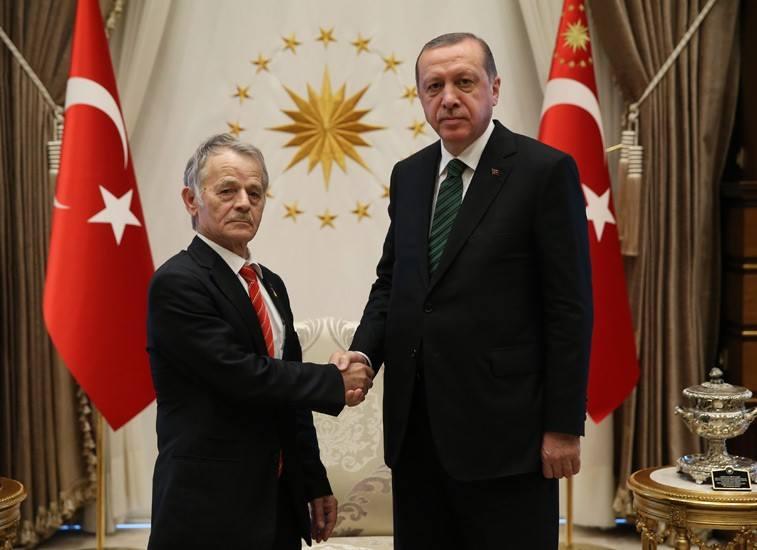 Эрдоган провел встречу слидером «Меджлиса крымско-татарского народа»