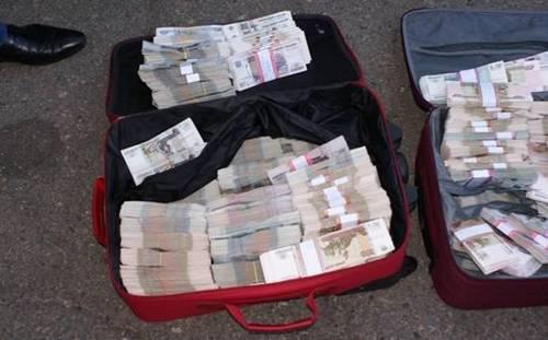 Задержан курьер, везший боевикам в Донецк 5 млн. рублей - СБУ