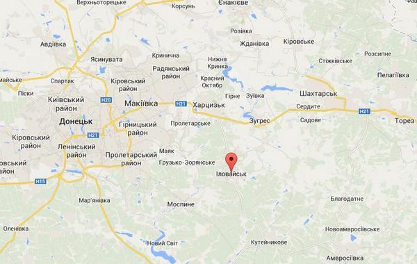 В Иловайске идет зачистка, продолжаются бои за Первомайск