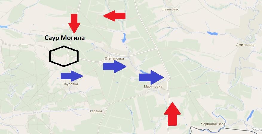 Армия освободила Степановку и Мариновку на границе с Россией