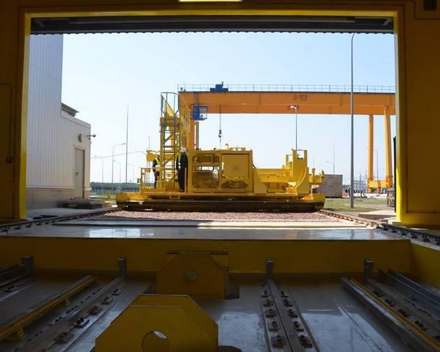 На ЧАЭС проходят испытания хранилища для ядерных отходов: фото