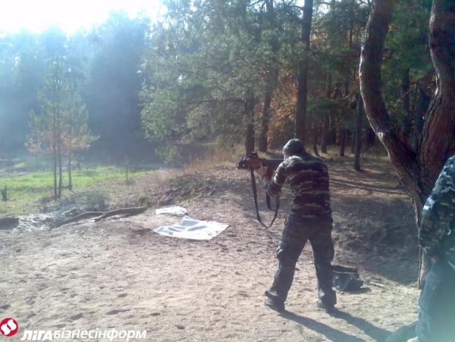 Обитель Яроша: репортаж с прифронтовой базы Правого сектора