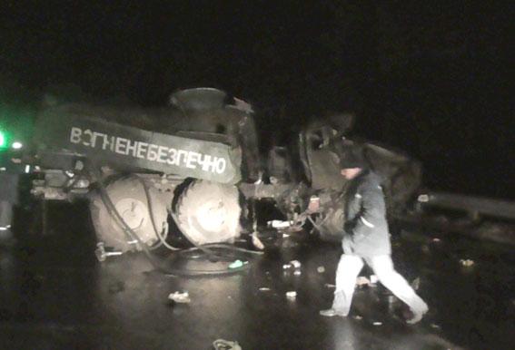 На Полтавщине столкнулись два грузовика: погиб сержант ВСУ