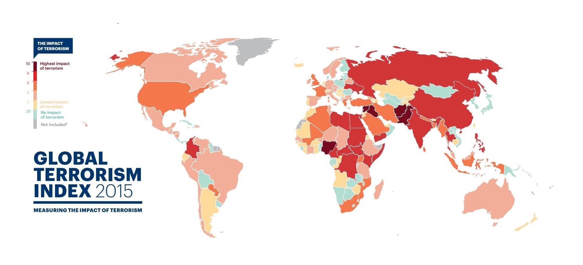 Число жертв терактов в 2014 году достигло максимума: инфографика
