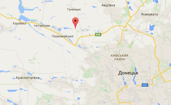 Террористы обстреляли Водяное из танков и артиллерии, есть жертвы