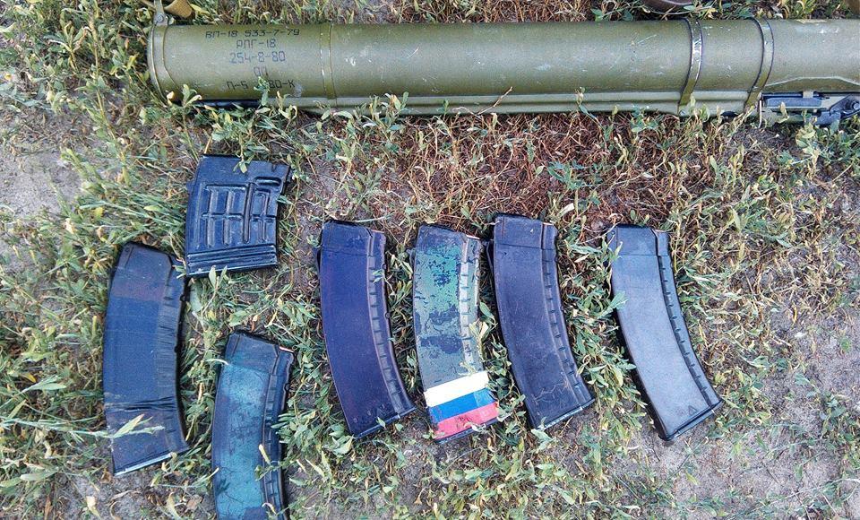 Ликвидированной в Донбассе ДРГ командовал кадровый офицер РФ