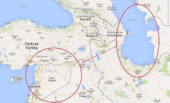 Опубликовано видео атаки Каспийской флотилии РФ по Сирии