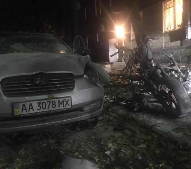 Покушение на Мосийчука: несколько видео после взрыва в Киеве