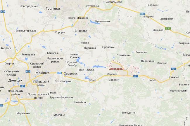 Десантники попали в засаду в районе Шахтерска - Тымчук