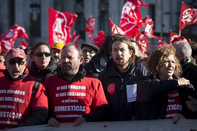 Профсоюзы Испании вышли на протест: требуют прекратить экономию