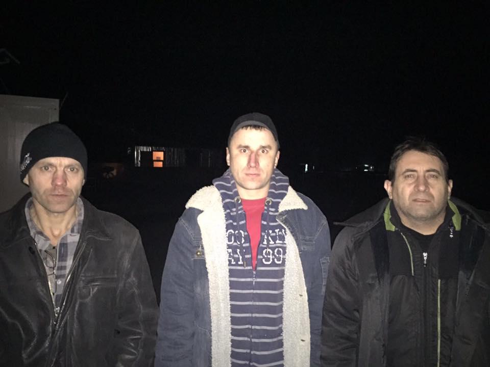 Из плена боевиков освобождены еще трое украинских заложников