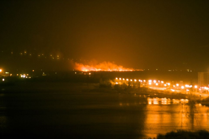 Спасатели рассказали о масштабном пожаре под Киевом