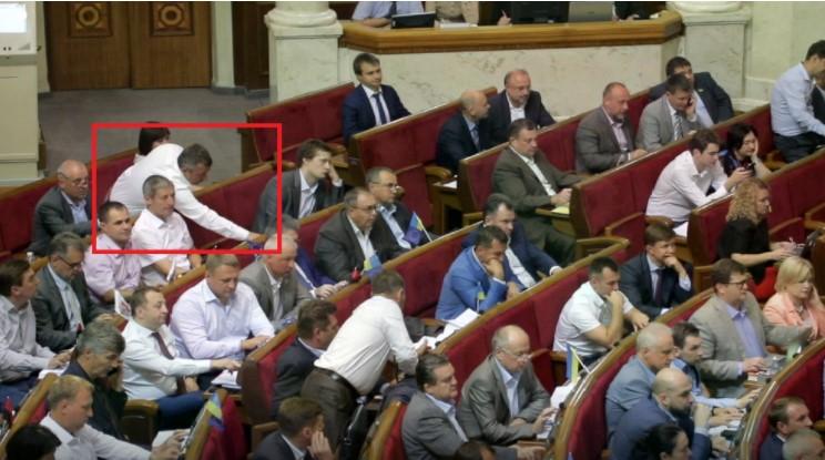 В июле в Раде кнопкодавили четыре депутата, все от БПП