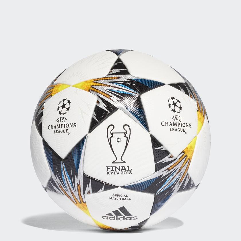 Adidas показал мяч для финала Лиги чемпионов в сине-желтых цветах