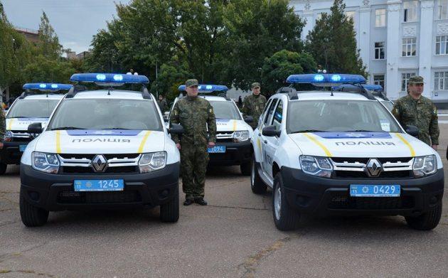 Аваков: Донецкие илуганские полицейские получили 86 новых авто