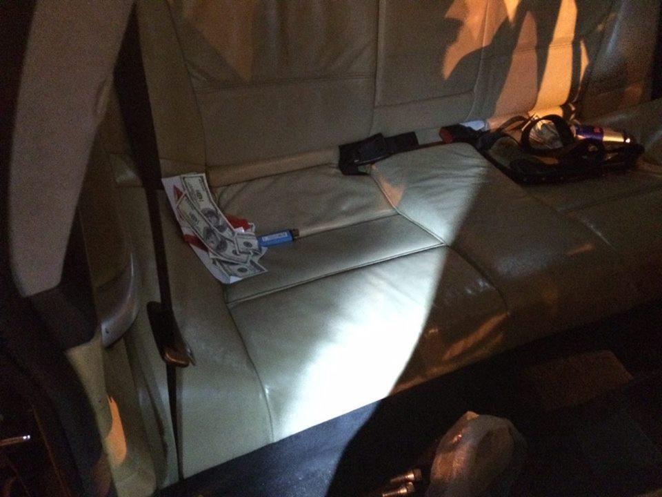 В ходе ночной погони харьковские патрульные задержали BMW: фото