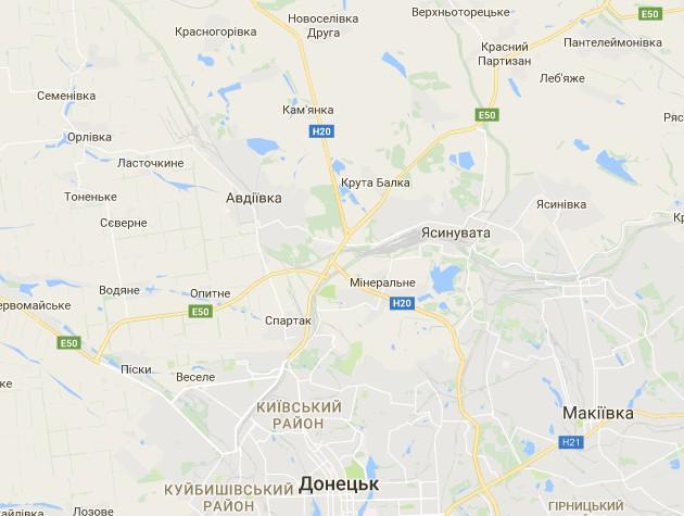 Бій в Авдіївці тривав 19 годин, бойовики підтягнули РСЗВ: карта