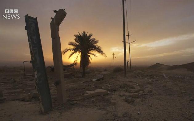 В Ираке продемонстрировали нанесенный джихадистами урон Нимруду