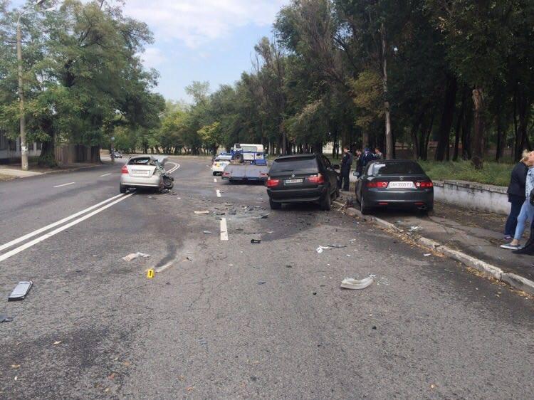 В Днепре замначальника полиции области попал в смертельное ДТП