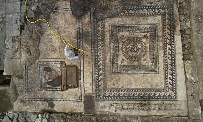Археологи обнаружили руины древнеримского города во Франции: фото