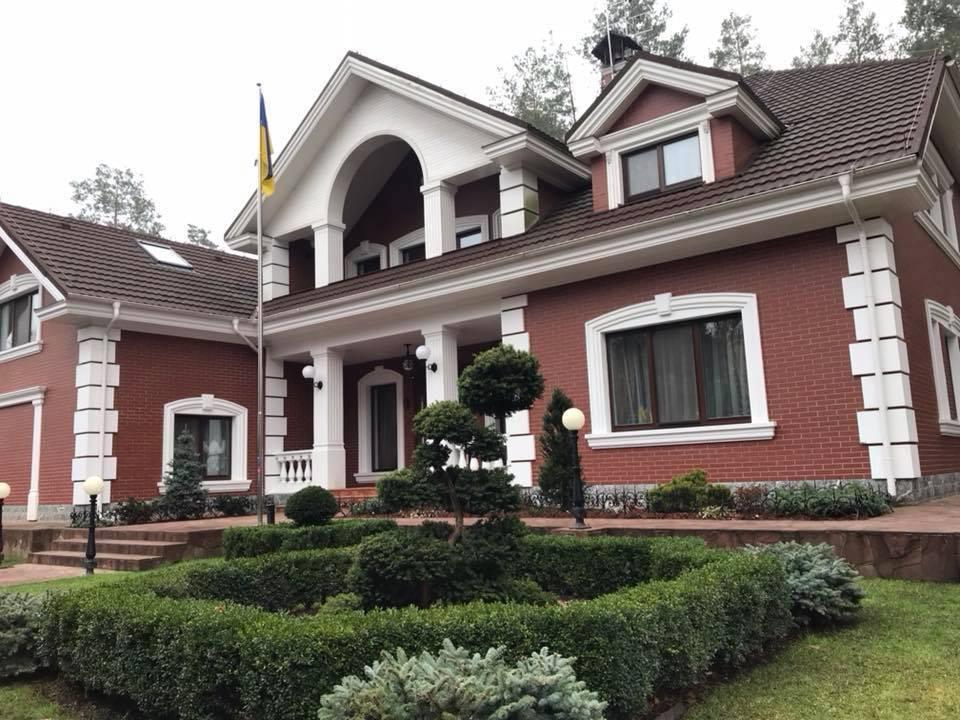 У Шабунина показали дом, в котором живет Луценко: фото