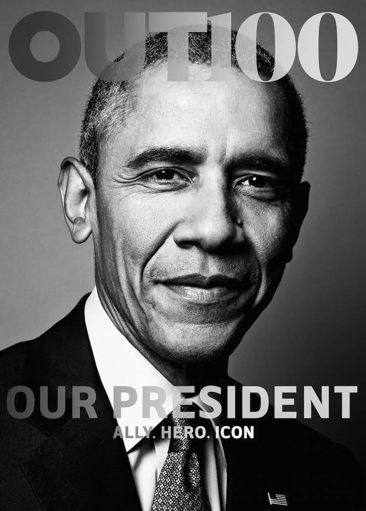Обама первым из президентов попал на обложку ЛГБТ-журнала: фото