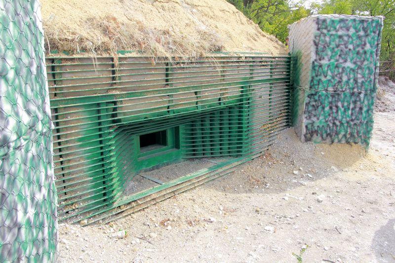 Минобороны: в Донбассе построено 600 км фортификаций