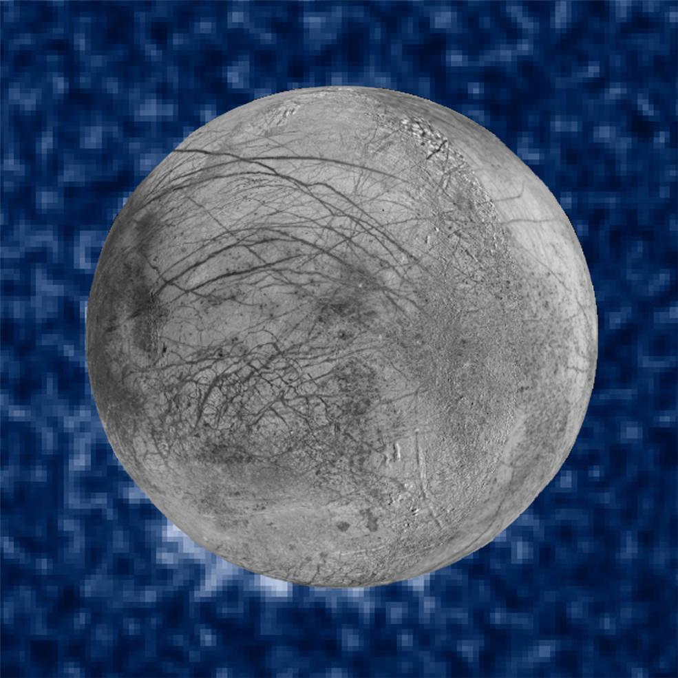 Ученые NASA вновь увидели гейзеры на спутнике Юпитера: видео