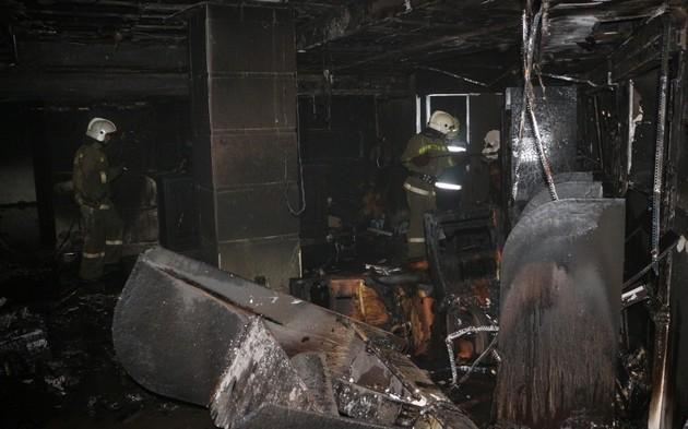 В Одессе коктейлем Молотова сожгли игорный зал