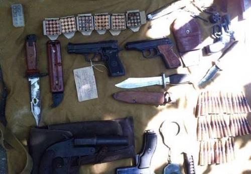 В Одесской области СБУ изъяла арсенал оружия