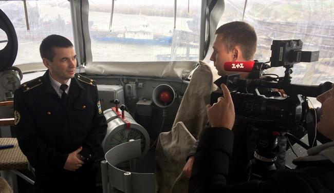 ВМС анонсировали фильм о корабле Черкассы во время аннексии Крыма
