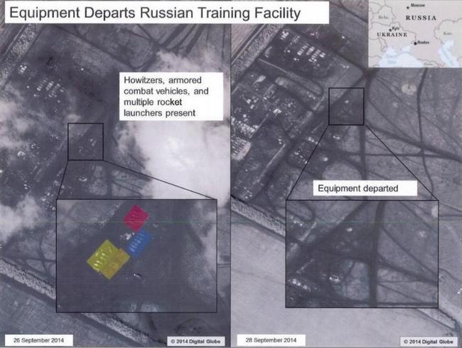 Военная техника РФ может быть переброшена в Украину - посол США