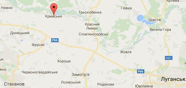В селе Крымское боевики обстреливают ВСУ и мирных жителей - штаб