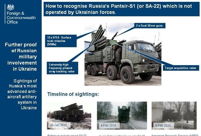 Посол США обнародовал фото российской системы ПВО под Дебальцево