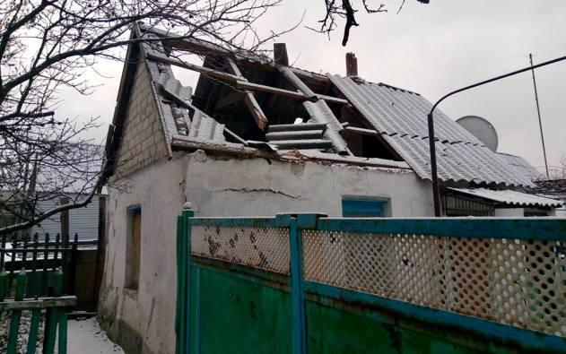 Мирный гражданин  получил ранение в итоге  обстрела Авдеевки вДонбассе