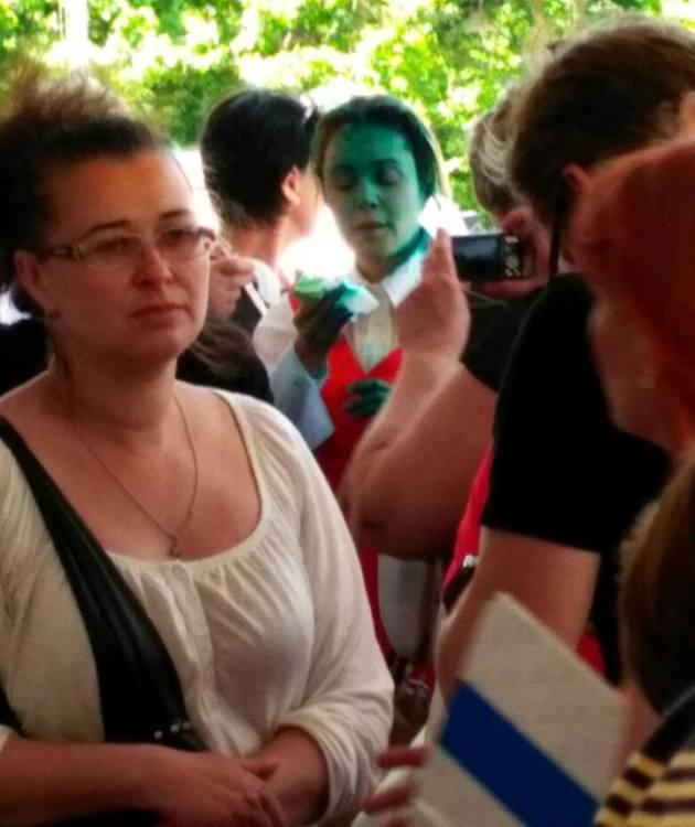 Київські лікарі підтвердили опік ока уКоролевської