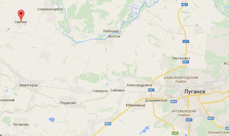 Силы АТО уничтожают боевиков в районе Смелого - штаб