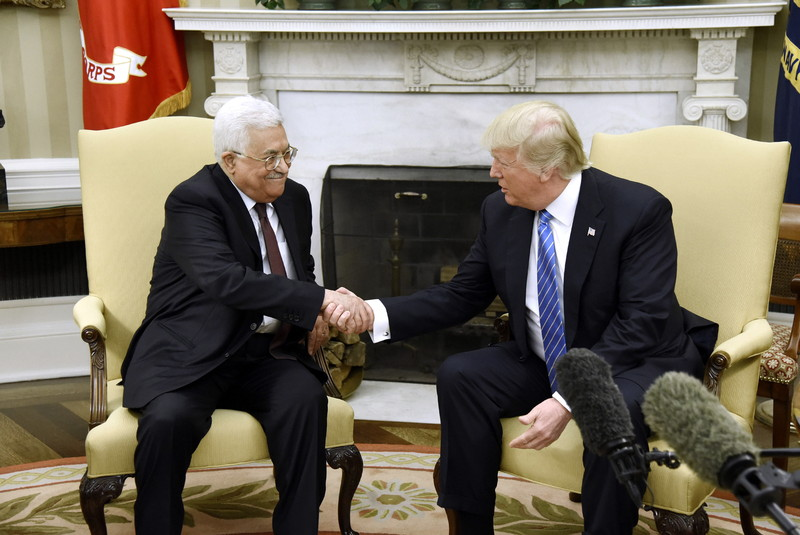 Д.Трамп пообещал достигнуть израильско-палестинского урегулирования